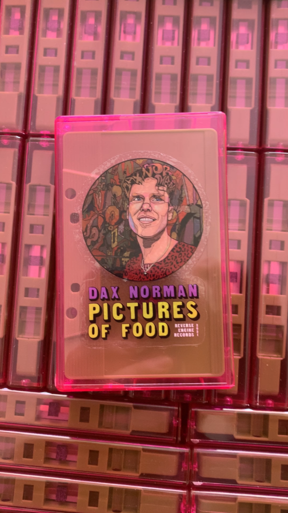 picture of the cassette release